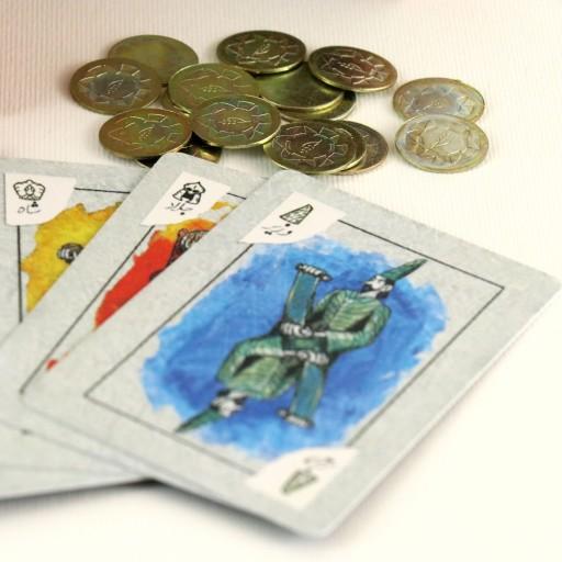 بازی کارتی شاه دزد وزیر